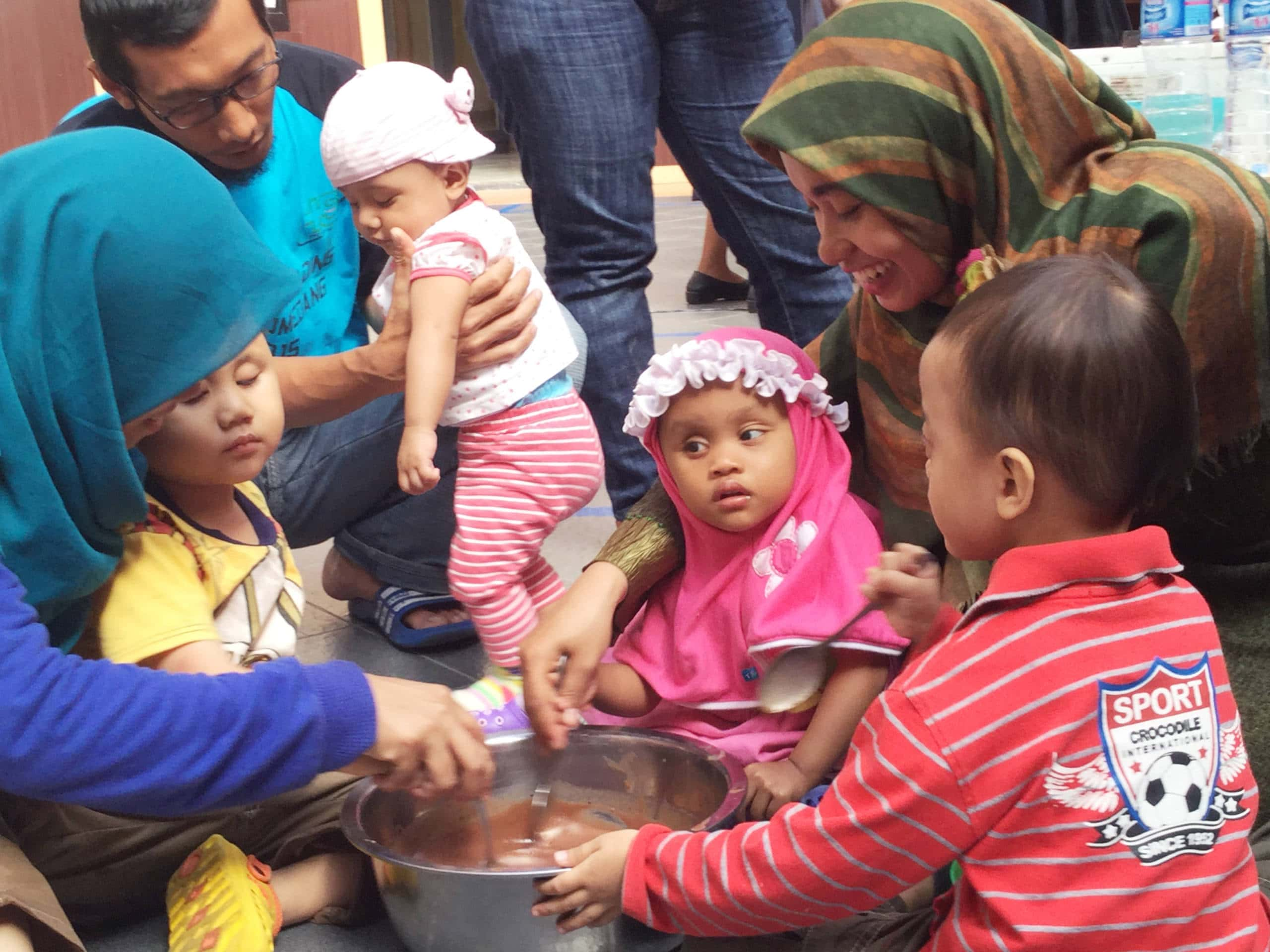 In all 17 families participated in Indonesia's first-ever