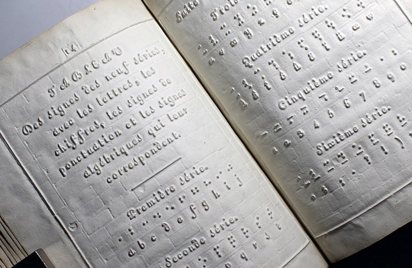 """Louis Braille's 1829 book, """"Procedure for Writing Words, Music, and Plainsong in Dots,"""" introduced braille to the world and brought the power of literacy to generations of people who are blind."""
