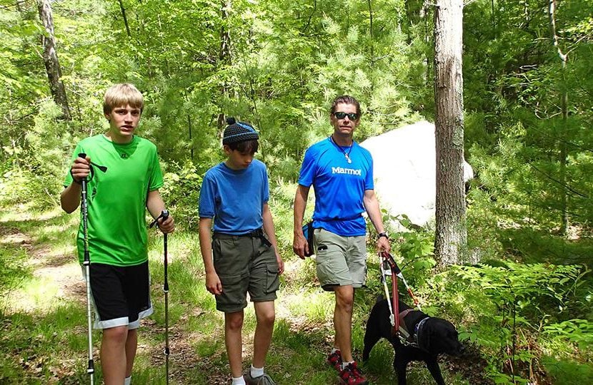 You don't need vision to hike. You just need to follow some commonsense tips to make sure you have a positive and safe experience on the trail – as you breathe in the glorious fresh air and enjoy the sounds, scents and textures of the great outdoors.