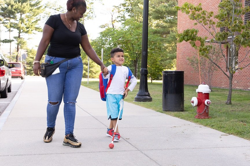 After a well-earned summer vacation, Perkins students returned to campus Tuesday ready for class.