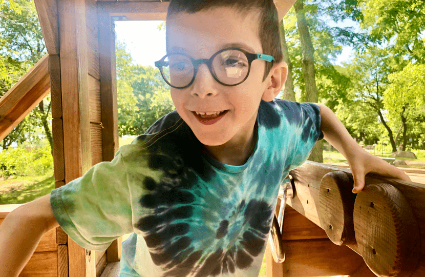 Henry's CVI was missed by doctors and educators until he was 5 years old.