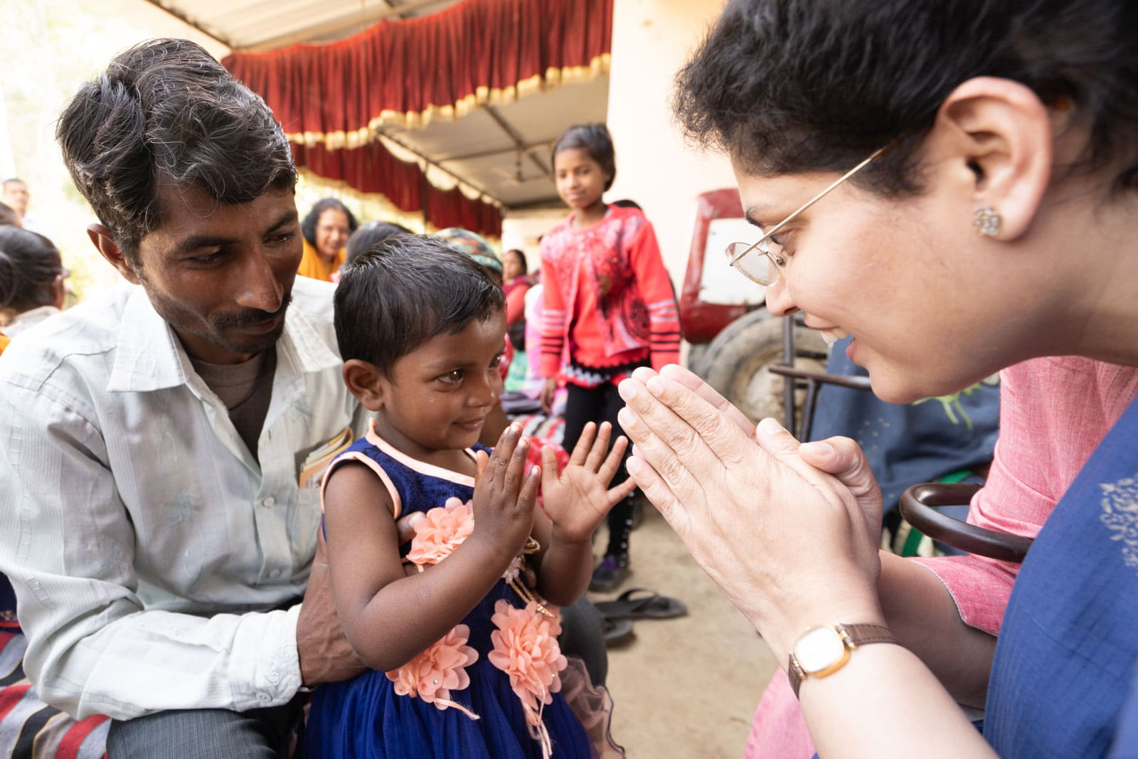 Indian child learn